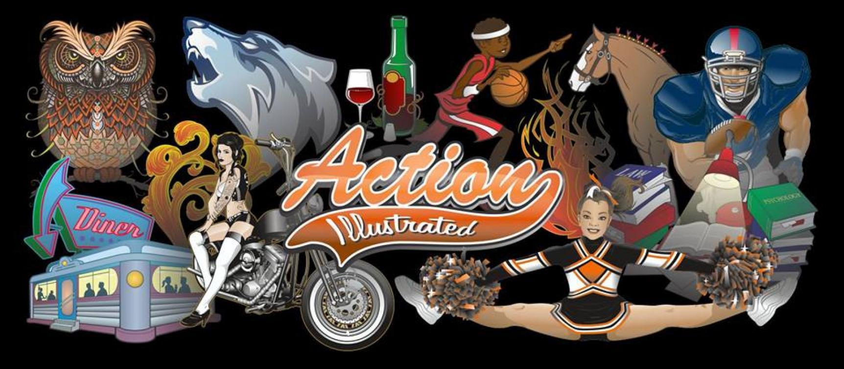 action art teaser logo